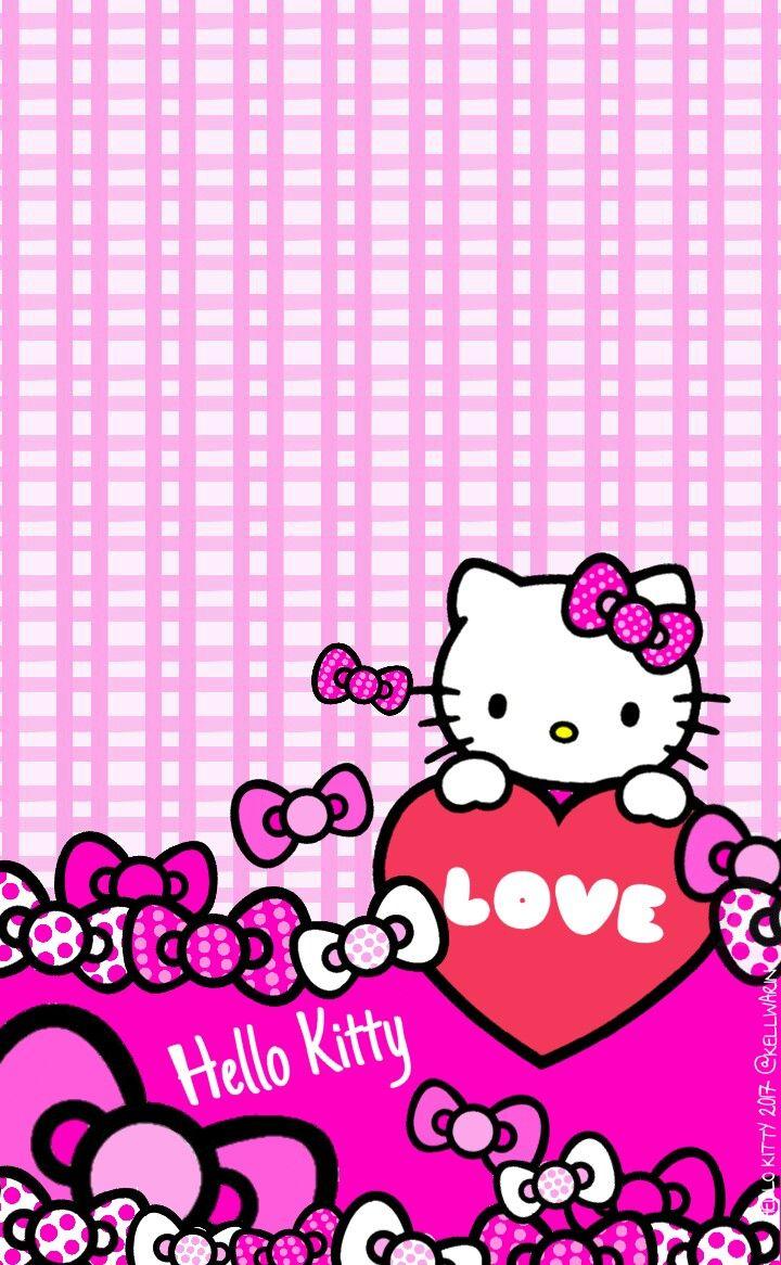 Wallpaper Hello Kitty Terbaru Pink Text Magenta Design Pattern 1640644 Wallpaperkiss