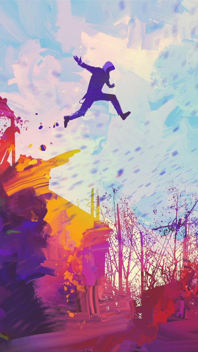 Beautiful Art Wallpapers Sky Jumping Extreme Sport Recreation Happy Leisure Graphic Design Illustration Freestyle Walking Street Stunts 1761718 Wallpaperkiss