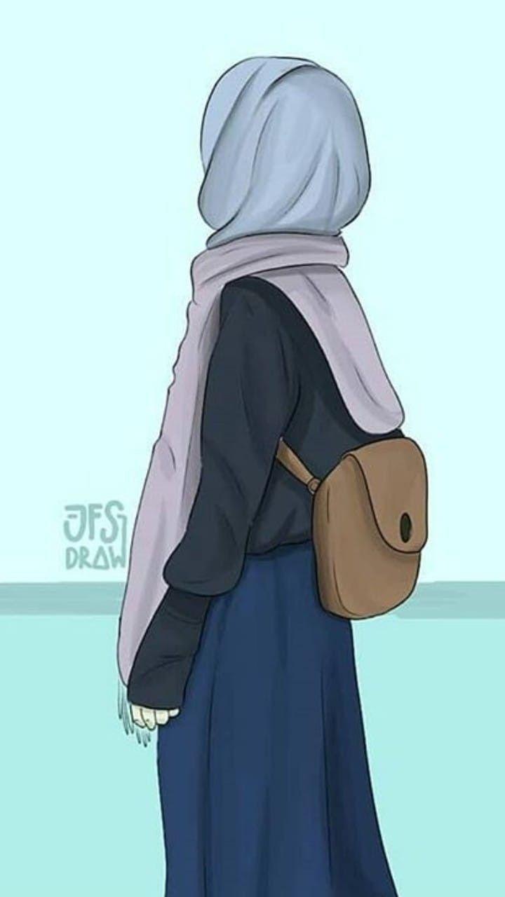 Wallpaper Animasi Islami Cartoon Illustration Pink Art Animation Clip Art Fictional Character 1137941 Wallpaperkiss